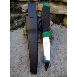 Lot de 2 FFC251GB Couteau de Survie Frost Cutlery Lame Acier 3Cr13 Manche Abs Etui Rigide - Livraison Gratuite