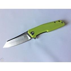 Couteau Stedemon ZKC C02 Neon G-10 Tanto Lame Acier 440C Linerlock Clip STEZKCC028 - Livraison Gratuite