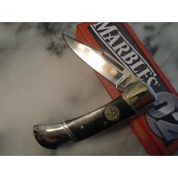 Couteau Marbles Lockback D2 Lame Acier D2 Manche Micarta MR432 - Livraison Gratuite