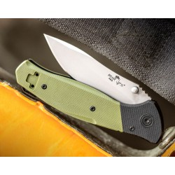 BCA400B4P Couteau Bear Ops Swipe A/O Lame Acier 14C28N Manche G10 Linerlock Clip Made USA - Livraison Gratuite