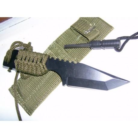 Couteau SURVIE + Allume FEU - CN210832