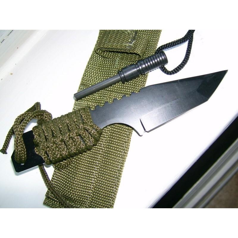 Couteau Survie Allume Feu Cn210832