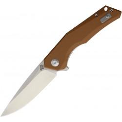WSC1901DGBN Couteau Beyond EDC Arch Brown Lame Acier D2 Manche G10 Linerlock Clip - Livraison Gratuite