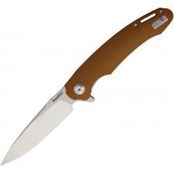 WSC1902DGBN Couteau Beyond EDC Harak Brown Lame Acier D2 Manche G10 Linerlock Clip - Livraison Gratuite