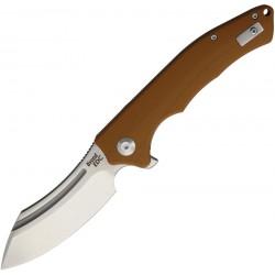WSC1903DGBN Couteau Beyond EDC Sunder Brown Lame Acier D2 Manche G10 Linerlock Clip - Livraison Gratuite