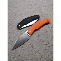 Couteau Amare Creator Slip Joint Orange Lame Acier VG10 Manche G10 AMR202002 - Livraison Gratuite