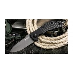 Couteau Kizlyar Bloke X Sleipner Manche G10 Linerlock Clip Made In Russia KK0154 - Livraison Gratuite