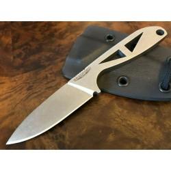 Couteau de Cou Bradford Knives G-Necker Lame Acier ELMAX Etui Kydex Made USA BRADGNSW - Livraison Gratuite