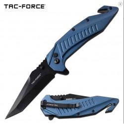 TF1017BL Couteau Tactical Tanto Tac Force A/O Coupe Ceintures Brise Vitres Lame Acier 3Cr13 - Livraison Gratuite