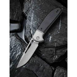 Couteau CIVIVI Trailblazer Black Lame Acier 14C28N Manche G-10 Slip Joint CIVC2018C - Livraison Gratuite