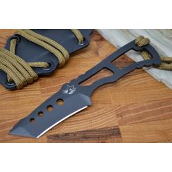 SG20717 Southern Grind Vermin Tanto Black 8670M Carbon Blade Kydex Sheath Made USA - Livraison Gratuite