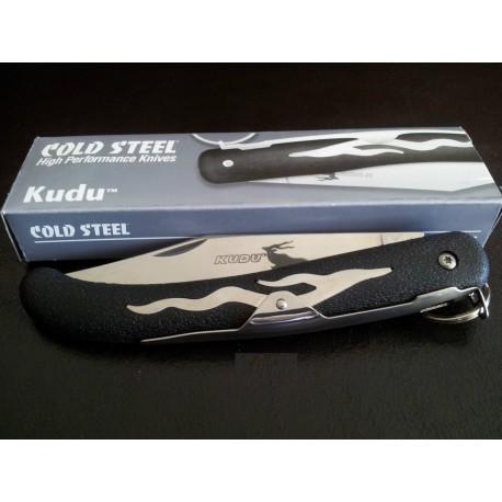 Lot de Couteaux - 3 Cold Steel Kudu Lame acier Krupp 5Cr15MoV Manche ABS CS20KK - Livraison Gratuite