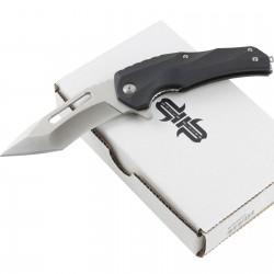 Couteau Brous Blades Reloader Lame D2 Satin Manche Zytel IKBS Linerlock Clip BRBM003 - Livraison Gratuite