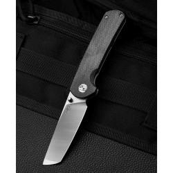 Couteau Bestech Sledgehammer Black Lame Acier D2 Manche Micarta IKBS Linerlock Clip BTKG31C - Livraison Gratuite