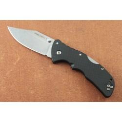 Couteau Cold Steel Mini Recon 1 Spear Point Acier AUS-10A Manche GRN Tri-Ad Lock Clip CS27BAC - Livraison Gratuite