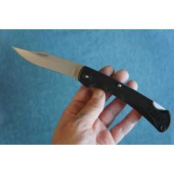 Lot de 2 Couteau Chasse Marbles Black Manche Abs Lame Acier 440 Etui Nylon MR564 - Livraison Gratuite