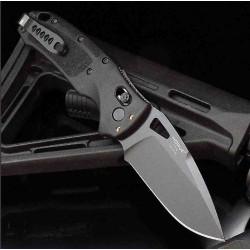 Couteau SIG Sauer Nitron ABLE Lock Lame Acier S30V Manche Polymère Black Made USA SIG36370 - Livraison Gratuite