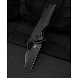 Couteau Bestech Operator Black Lame D2 Black Manche G10 Linerlock Clip BTKG36B - Livraison Gratuite