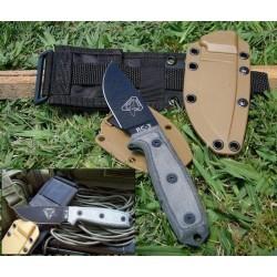 ESEE Knives RAT Cutlery RC-3 Knife w/ Molle COUTEAU DE COMBAT - RC3PMB - LIVRAISON GRATUITE