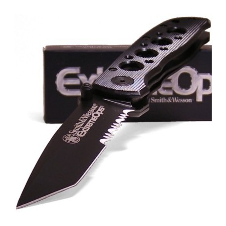 Couteau SMITH&WESSON SW5TBS TANTO SERRATED