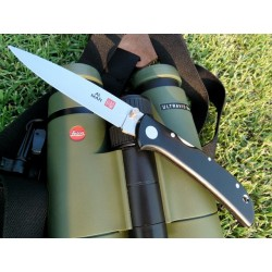 Couteau AM2B2 Al Mar Hawk Black Micarta handle Ultralight knife
