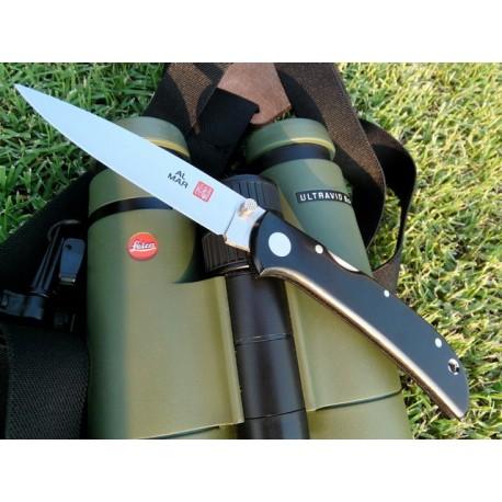 Couteau AM2B2 Al Mar Hawk Black Micarta handle Ultralight knife