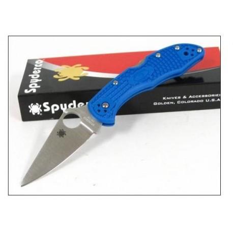 Couteau SPYDERCO Bleu FRN DELICA 4 SC11FPBL VG-10 JAPAN - Spyderco delica 4 bleu