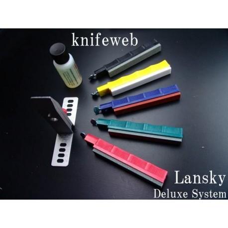 Affûteurs et Pierres LS2 - Kit d'aiguisage LANSKY DE LUXE