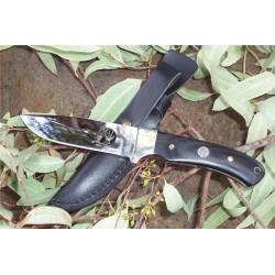 BEAU Couteau Elk Ridge Small Hunter Chasse Rando Acier 440 Manche Bois ER010 - Livraison Gratuite