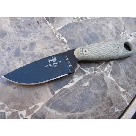 Esee Knives Izula II Black - RAT Cutlery Izula 2 - ESIZ2B - Couteau Survie Randall's Adventure Training