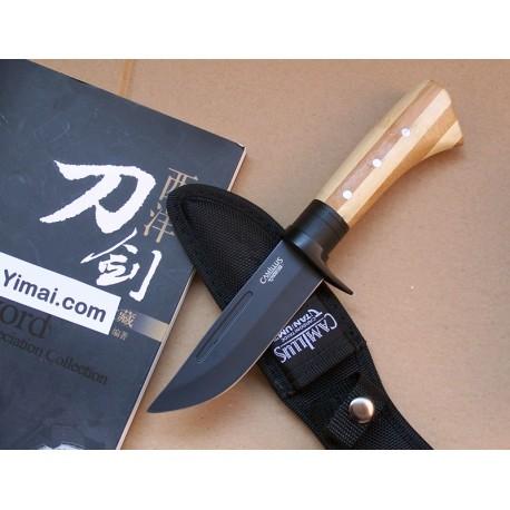 Couteau Camillus Bamboo Ti Carbonitride 2 AUS8 CM18538