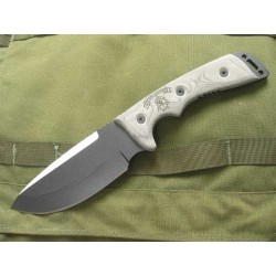TPOC01 TOPS OUTPOST COMMAND BLACK BLADE - Couteau de Combat TOPS KNIVES - Made in USA