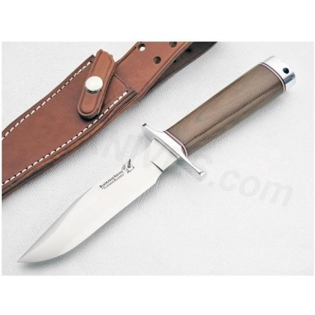 Couteau Blackjack Model 1-5 Natural Micarta Acier A2 BCB5NM - Couteau Made In USA