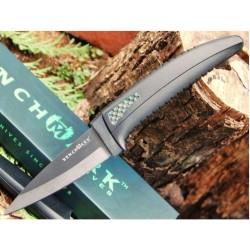 Couteau de cou lame céramique - BenchMark Ceramic Neck Knife BMK007 - LIVRAISON GRATUITE