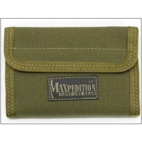 Portefeuille MAXPEDITION Khaki Nylon 0229 SPARTAN WALLET MX229K