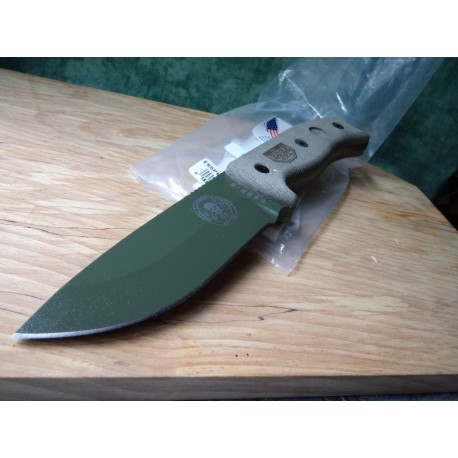 ES5PKOOD Rat Cutlery / Esee Knives Model 5 - Couteau Combat Survie Made In USA