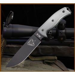 Couteau Esee Knives Model 6 Carbone 1095 - COUTEAU DE COMBAT SURVIE COUTEAU ESEE MADE IN USA ES6PB - Livraison Gratuite