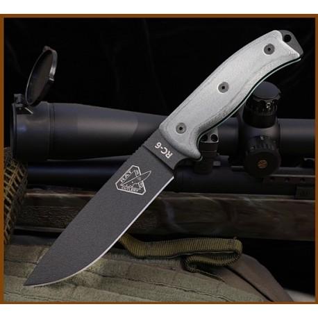 Couteau Esee Knives Model 6 COUTEAU DE COMBAT SURVIE ES6PB - COUTEAU ESEE MADE IN USA
