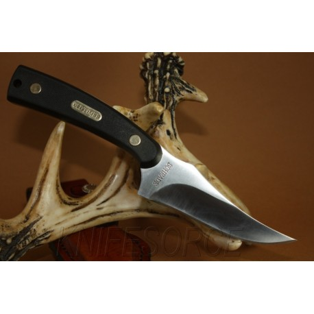 Couteau Schrade Knives Old Timer Sharpfinger New Knife SCH152OT Couteau de chasse à lame fixe
