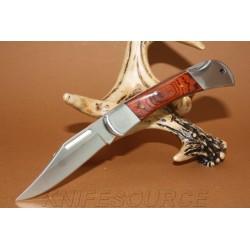 Couteau pliant Classic Knives Rosewood Lockback Pocket Knife cn2108264 Manche Bois - Cran d'arrêt