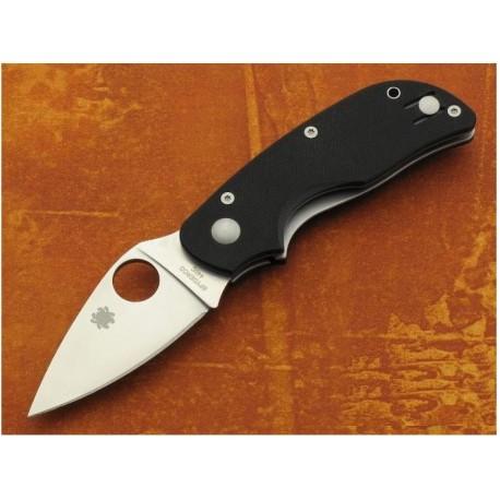 COUTEAU Spyderco Cat G10 Acier 440C Plaquettes G10 SC129GP Couteau cran d'arrêt