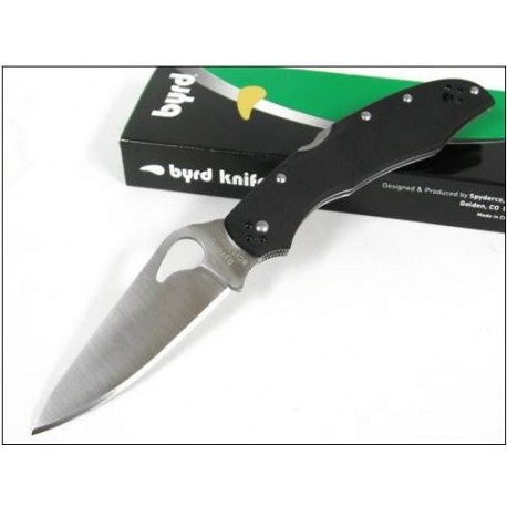 COUTEAU SPYDERCO BYRD Cara Cara 2 G-10 Plain Edge Knife BY03GP2 Acier 8Cr13MoV