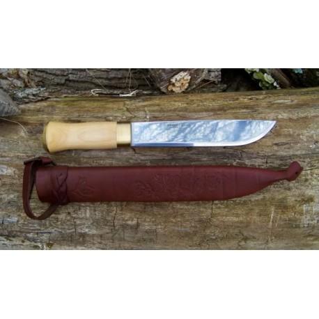 Poignard Couteau Helle Lappland Norwegian - H070 Acier 12C27 Couteau de chasse pêche rando