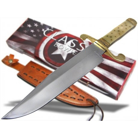 GROS Couteau CHASSE BOWIE de BANDIDOS Frontier Series PA3262
