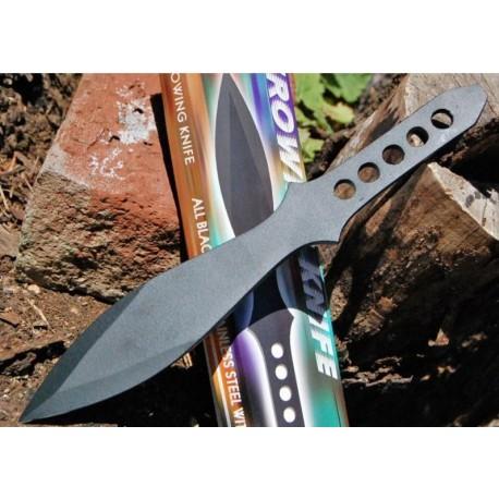 Lot de 2 COUTEAUX DE LANCER AVEC ETUI PA3102bk Throwing Knife 2 Couteaux de Lancer