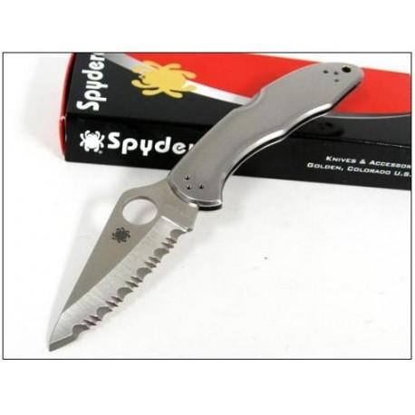 Couteau SPYDERCO DELICA 4 SC11S Tout Acier Japan VG10