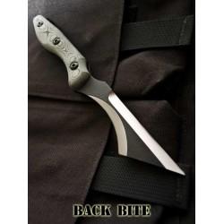 Couteau de combat TOPS Back Bite Acier 1095 Tactical TOPS KNIVES Made In USA TPBBITE01 - Livraison Gratuite