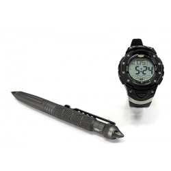 Urban Defense Montre UZI + Stylo tactical UZI Uzi Tactical Pen 2/Watch Combo UZITP2C