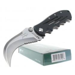 Couteau MTech Bear Claw Tactical Folding Pocket Knife Hawkbill Acier 440 Griffe Serrated M3640 - LIVRAISON GRATUITE