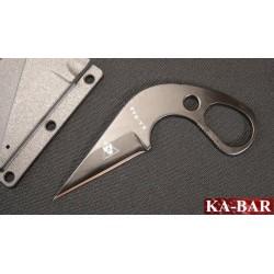COUTEAU CARTE CREDIT Ka-Bar TDI LDK Last Ditch Law Enforcement Couteau de cou KABAR KA1478 - LIVRAISON GRATUITE